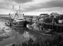 Brancaster fishing fleet