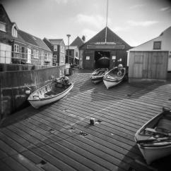 Sheringham slipway boats