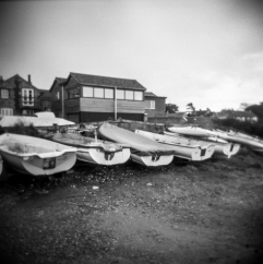 Sailing boats Brancaster Staithe