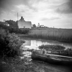 old boat Brancaster Staithe
