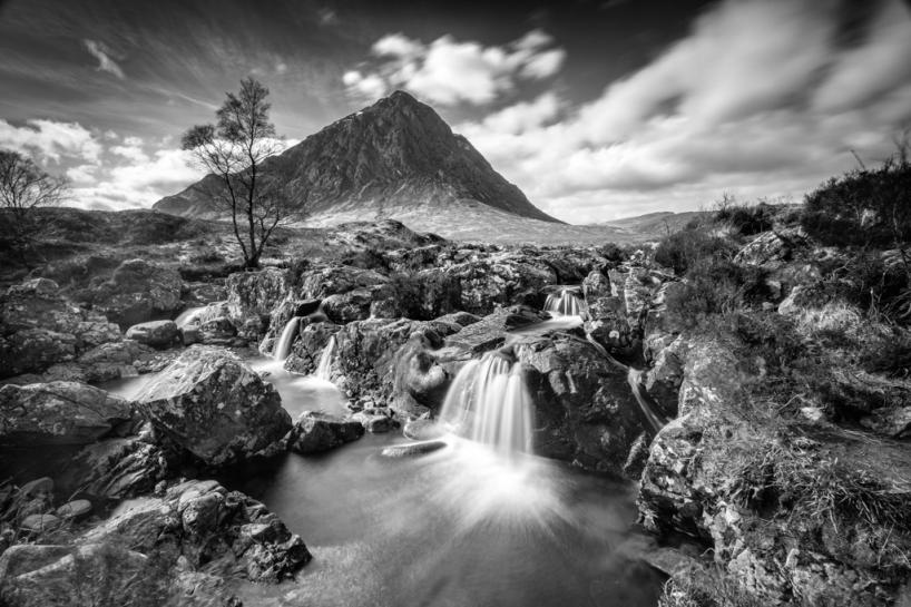 Water fall, Buachaille Etive Mòr
